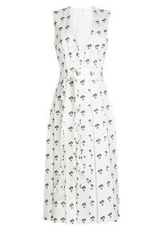 Victoria Beckham Printed Dress
