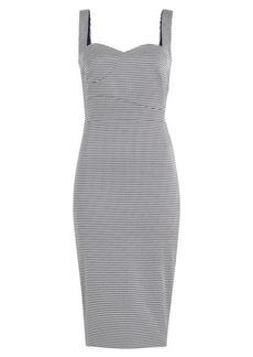 Victoria Beckham Printed Pencil Dress