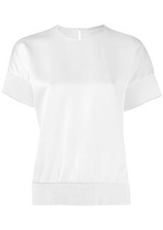 Victoria Beckham ribbed hem T-shirt