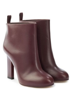 Victoria Beckham Rise Leather Ankle Boots