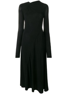 Victoria Beckham ruched jersey dress