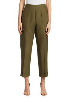 Victoria Beckham Safari Cuffed Trousers