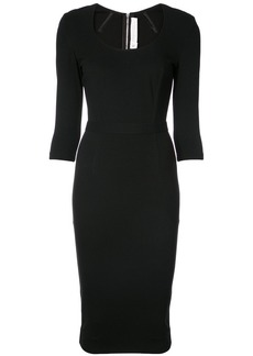 Victoria Beckham scoop neck dress
