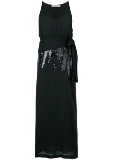 Victoria Beckham sequin V-neck dress