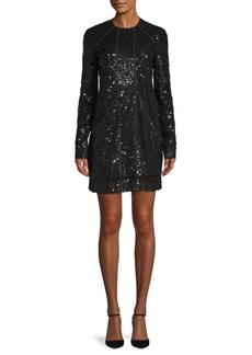 Victoria Beckham Sequined Sheath Dress