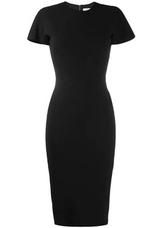 Victoria Beckham short-sleeve fitted dress