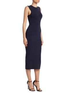 Victoria Beckham Signature Sleeveless Slub Dress