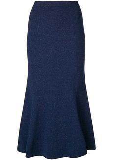 Victoria Beckham signature Slub skirt