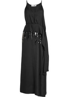 Victoria Beckham Silk Dress with Sequins