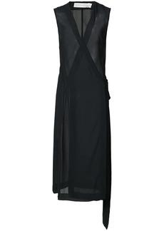 Victoria Beckham sleeveless wrap dress