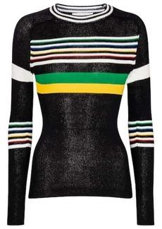 Victoria Beckham Striped cotton sweater