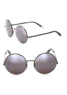 Victoria Beckham Supra 56MM Mirrored Round Sunglasses