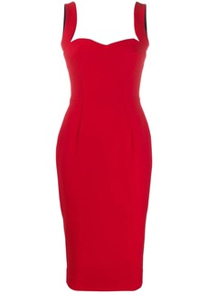 Victoria Beckham sweetheart midi dress