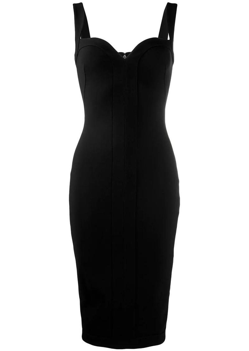 Victoria Beckham sweetheart neckline fitted dress