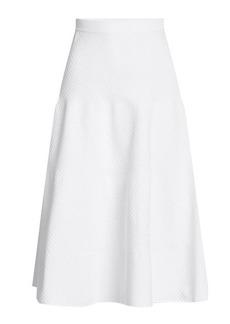 Victoria Beckham Textured Skirt