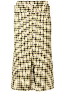 Victoria Beckham tweed pencil skirt