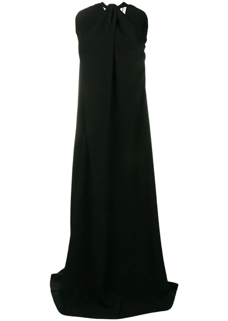 Victoria Beckham twisted neckline dress