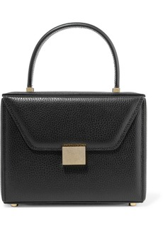 Victoria Beckham Vanity Textured-leather Tote