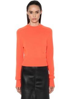 Victoria Beckham Vb Cashmere Knit Sweater
