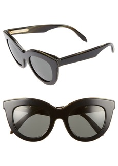Victoria Beckham 49mm Cat Eye Sunglasses
