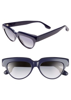 Victoria Beckham 53mm Gradient Cat Eye Sunglasses