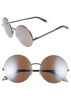 Victoria Beckham 56mm Round Sunglasses