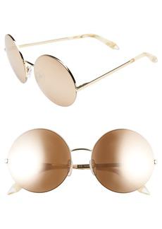 32e4426977 Victoria Beckham 56mm Round Sunglasses