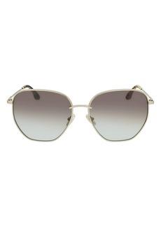 Victoria Beckham 60mm Gradient Sunglasses