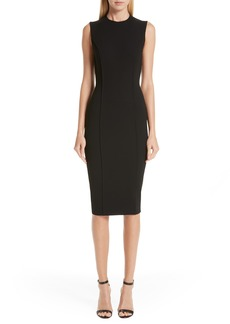 Victoria Beckham Back Zip Body-Con Dress