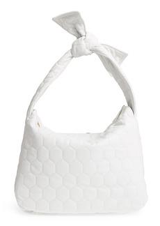Victoria Beckham Balloon Leather Shoulder Bag