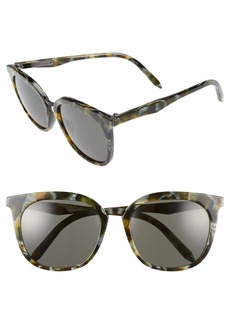 Victoria Beckham Combination Classic 56mm Sunglasses