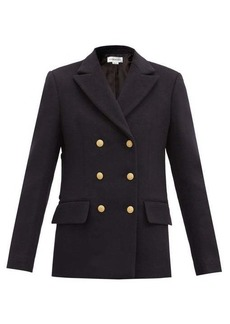 Victoria Beckham Double-breasted wool-blend pea coat