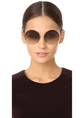 1ba5b4cdb Victoria Beckham Feather Light Round Sunglasses Victoria Beckham Feather  Light Round Sunglasses ...