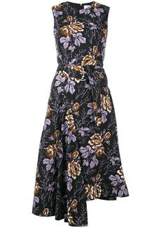 Victoria Beckham floral print dress - Black