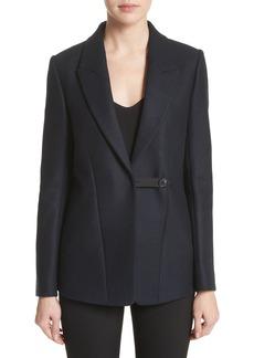 Victoria Beckham Fluid Back Double Breasted Jacket