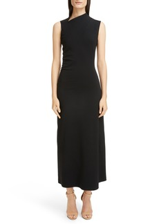 Victoria Beckham Gathered Side Gown