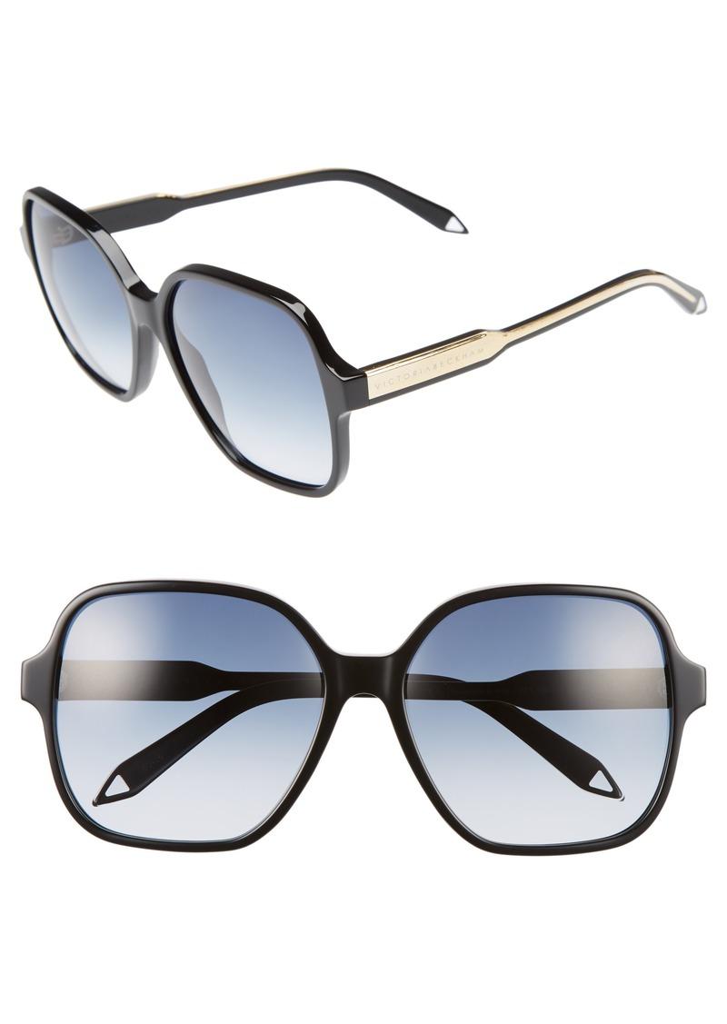 7c2c1df36e6 Victoria Beckham Victoria Beckham Iconic Square 59mm Sunglasses