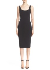 Victoria Beckham Knit Sheath Dress