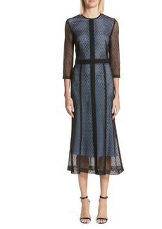 Victoria Beckham Lace Midi Dress