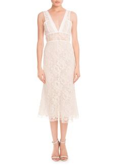 Victoria Beckham Lace Sleeveless A-Line Dress
