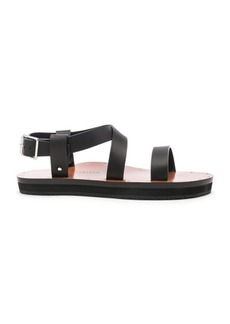 Victoria Beckham Leather Ankle Strap Sandals