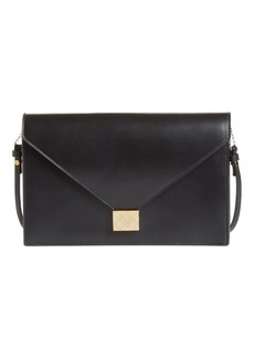 Victoria Beckham Leather Envelope Clutch