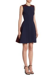 Victoria Beckham Paneled A-Line Dress