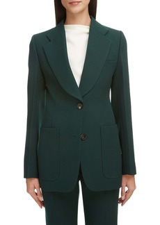 Victoria Beckham Patch Pocket Fitted Jacket