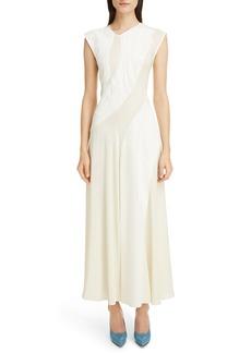Victoria Beckham Patchwork Maxi Dress