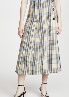Victoria Beckham Pleated Skirt