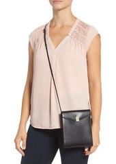 Victoria Beckham Postino Leather Crossbody Bag