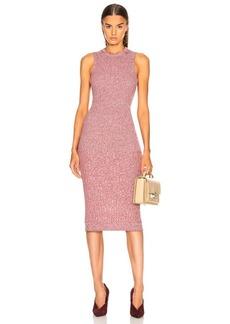 Victoria Beckham Rib Change Sleeveless Dress