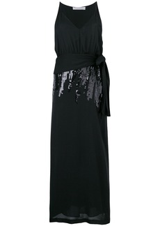 Victoria Beckham sequin V-neck dress