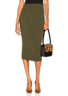 Victoria Beckham Signature Fitted Skirt